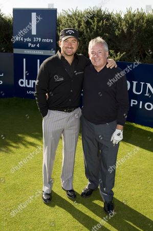Stock Image of Graeme McDowell and Kenny Mcdowell.