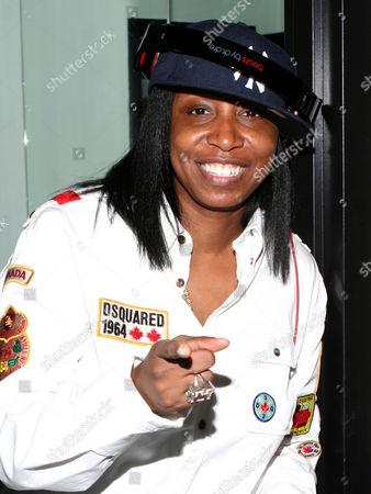 Stock Image of DJ Jazzy Joyce