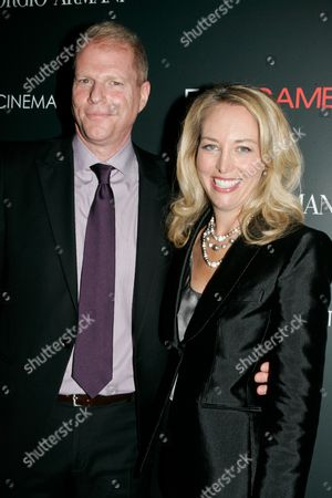 Noah Emmerich and Valerie Plame Wilson