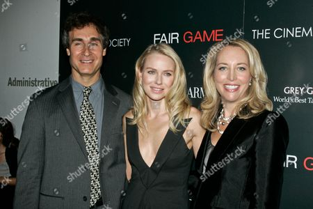 Doug Liman, Naomi Watts and Valerie Plame Wilson