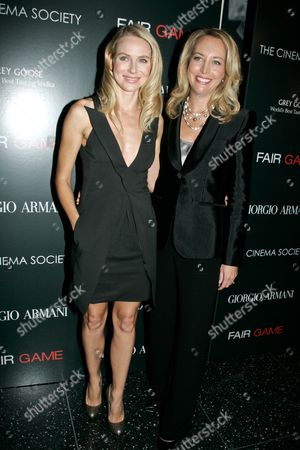 Naomi Watts and Valerie Plame Wilson