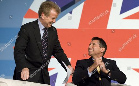 Lord Colin Moynihan and Lord Sebastian Coe