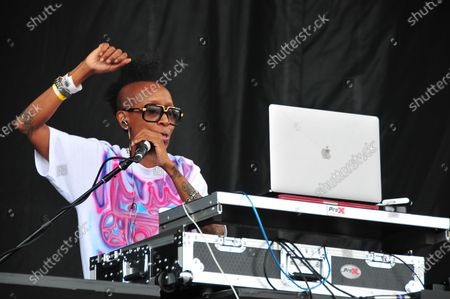 Editorial picture of 'It's Time for Hip Hop in NYC', The Bronx, Orchard Beach, New York, USA - 16 Aug 2021
