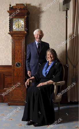 Stock Image of Sir Tommy Macpherson and Lady MacPherson