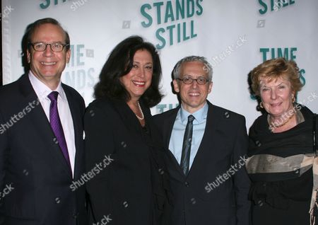 Stock Picture of Barry Grove, Lynne Meadow, Donald Margulies, Nelle Nugent