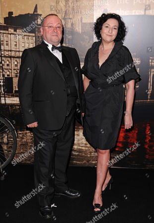 Alex Norton and Blythe Duff