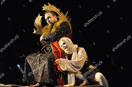Editorial photo of 'Promised End' performed by English Touring Opera, The Linbury Studio, Britain - 08 Oct 2010