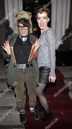 Stock Photo of Shabby Katchadourian and Caoimhe Guilfoyle at Bucks Townhouse Club
