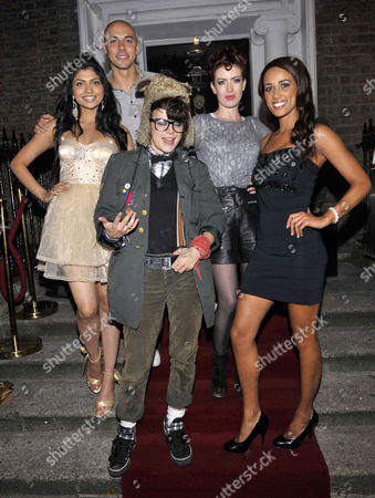 Shabby Katchadourian, Hira Shah, Ray Shah, Caoimhe Guilfoyle and Noirin Kelly at Bucks Townhouse Club