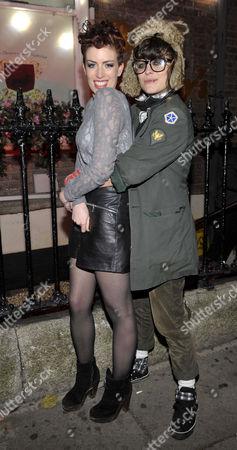 Caoimhe Guilfoyle and Shabby Katchadourian at Bucks Townhouse Club