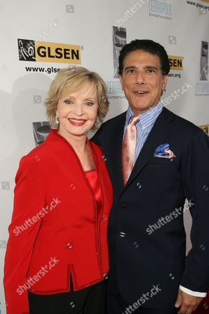 Stock Photo of Florence Henderson and Corky Ballas