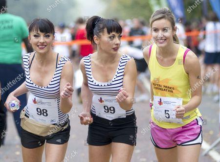 The Cheeky Girls - Gabriela Irimia and Monica Irimia and Charlie Webster