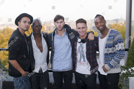 X Factor Evictees. F.Y.D - Kalvin LaMey, Ryan-Lee Seager, Alex Murdoch, Matt Newton and Jordan Gabriel
