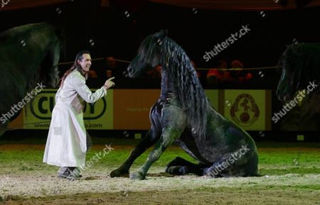 Editorial image of Horse of the Year Show 2010, LG Arena, Birmingham, Britain - 10 Oct 2010