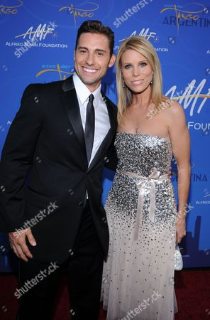Stock Photo of Timothy Mandala and Cheryl Hines