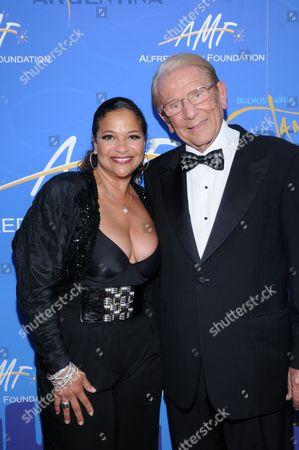 Debbie Allen and Dr. Alfred Mann