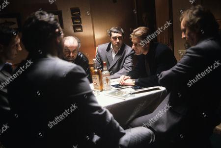 Stephen Frost, Brian Croucher, Sean Bean and Trevor Byfield