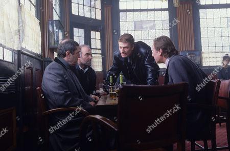 Brian Croucher, Stephen Frost, Sean Bean and Trevor Byfield