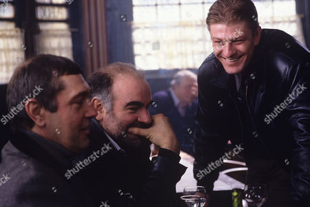 Brian Croucher, Stephen Frost and Sean Bean