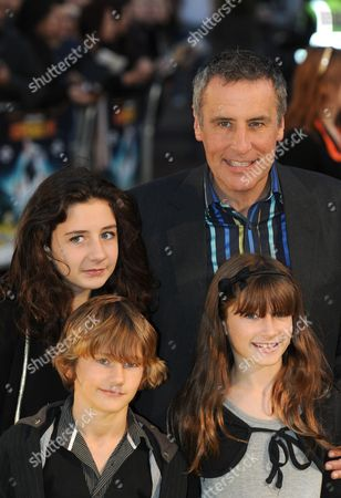 Dermot Murnaghan and family