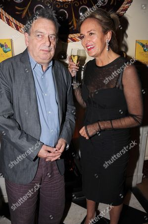 Stock Photo of Stephen Frears and Caroline Michelle