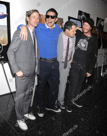 Spike Jonze, Johnny Knoxville, Jeff Tremaine and Ehren McGhehey