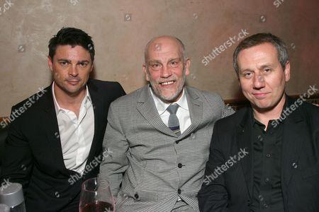 Karl Urban, John Malkovich and Jonathan Walker