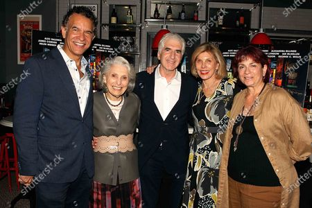 Brian Stokes Mitchell ,Executive producer Pat Schoenfeld ,Oren Jacoby (Director/producer) , Christine Baranski ,Wendy Lidell, Kino Lorber's SVP of theatrical distribution