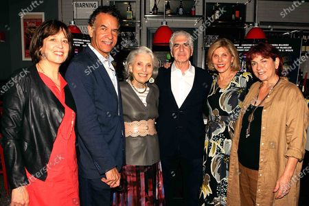 Betsy West (Executive producer), Brian Stokes Mitchell ,Executive producer Pat Schoenfeld ,Oren Jacoby (Director/producer) , Christine Baranski ,Wendy Lidell, Kino Lorber's SVP of theatrical distribution