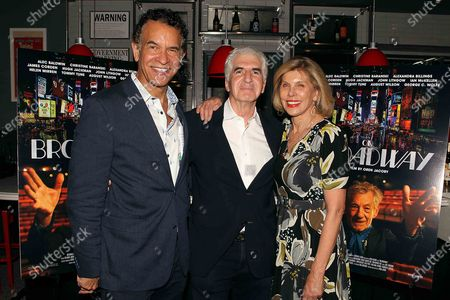 Brian Stokes Mitchell ,Oren Jacoby (Director/producer) , Christine Baranski