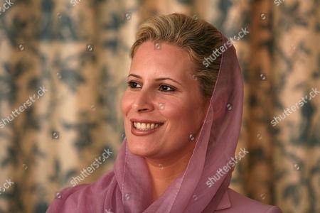 Editorial photo of Ayesha al-Gaddafi, daughter of Libyan leader Muammar al-Gaddafi, at her home in Tripoli, Libya - 05 Oct 2010