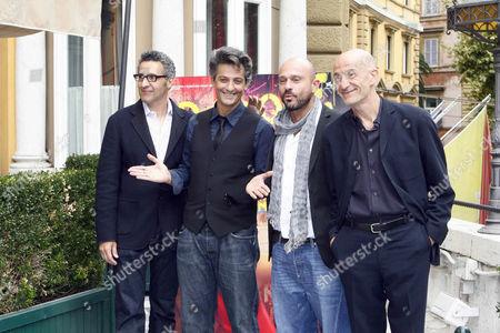 John Turturro, Rosario Fiorello, Raiz and Peppe Servillo