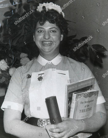 Claire Rayner as a State Registered Nurse in the 1950's