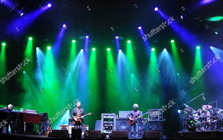 Page McConnell, Trey Anastasio,  Mike Gordon and Drummer Jon Fishman - Phish