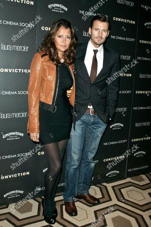 Editorial photo of The Cinema Society Film Screening of 'Conviction', New York, America - 12 Oct 2010