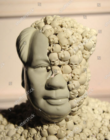 Stock Picture of 'Skull face Mao' by Bouke de Vries, 2010