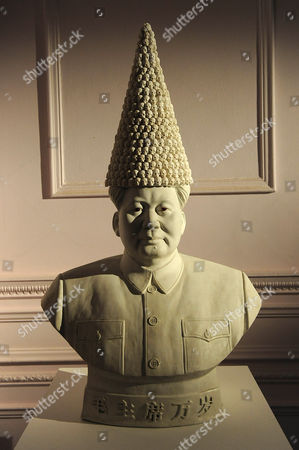 Stock Photo of 'Mao with Dunce's Cap' by Bouke de Vries, 2010