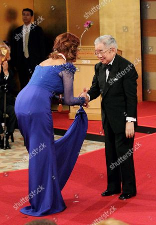 Sophia Loren and Prince Hitachi