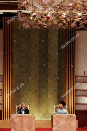 Prince Hitachi and Princess Hitachi of Japan