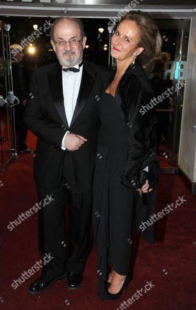 Salman Rushdie with Caroline Michelle