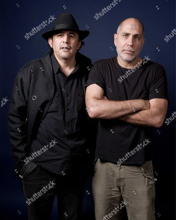 Stock Image of Guillermo Fadanelli and Guillermo Arriaga