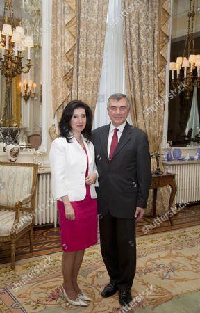 Stock Image of Ambassador of the Republic of Turkey, Unal Cevikoz