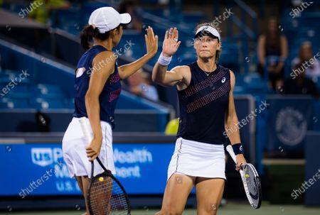 Editorial photo of Western & Southern Open Day Eight, Tennis, Cincinnati, USA, 21 Aug 2021