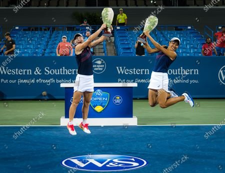 Editorial image of Western & Southern Open Day Eight, Tennis, Cincinnati, USA, 21 Aug 2021