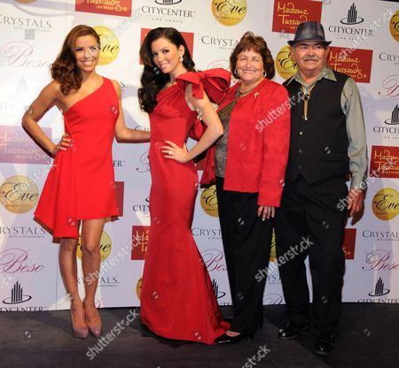 Editorial picture of Eva Longoria Parker waxwork model unveiling at Eve Nightclub, Las Vegas, America - 13 Oct 2010