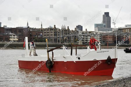 The Boat That Walks. River Thames, London, England, Britain.