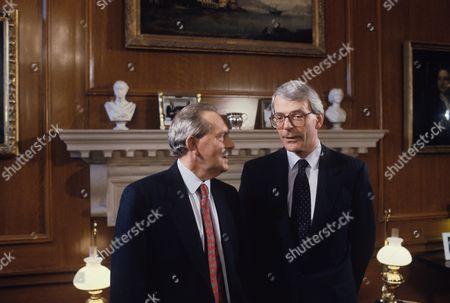 Brian Walden, Presenter with Sir John Major MP