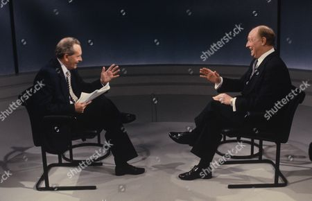 Brian Walden, Presenter with Neil Kinnock MP