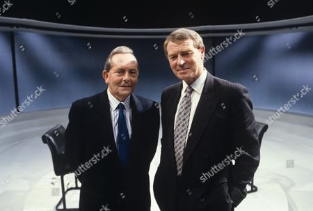 Brian Walden, Presenter with Paddy Ashdown MP