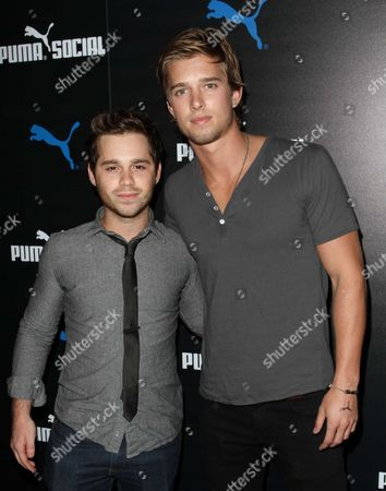 Ryan Pinkston and Drew Van Acker